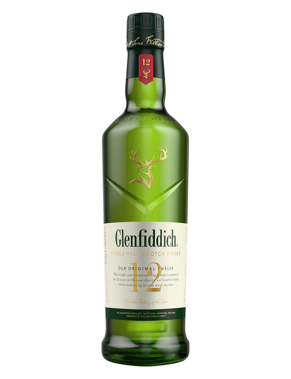 Smuk Glenfiddich Whisky: Single Malt Scotch Whisky - 12 to 50 Year Old LK-59