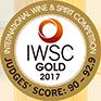 IWSC gold medal 2017