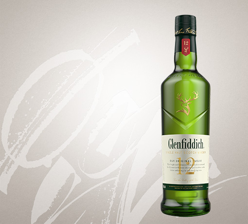 glenfiddich 12 year old single malt whisky US tile