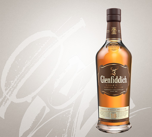 glenfiddich 18 year old single malt whisky US tile
