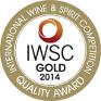 IWSC Gold Medal 2014 12YO