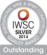 IWSC SILVER OUTSTANDING MEDAL 2014 15YO