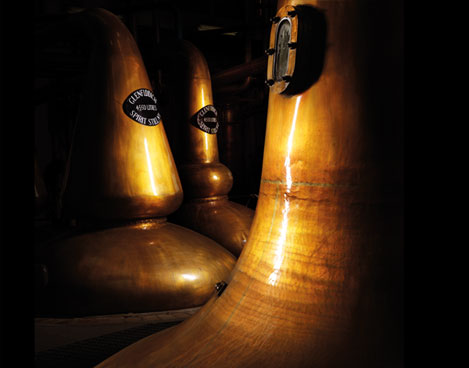 Glenfiddich Copper Stills