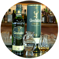 Circle Glenfoddich 12 Years