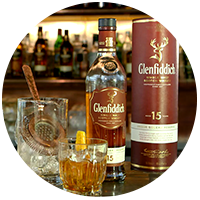 Circle Glenfoddich 15 Years