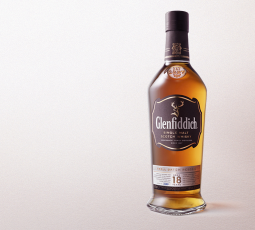 Glenfiddich 18 Year Old Bottle tile