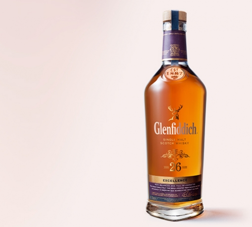 Glenfiddich 26 Year Old Whisky tile