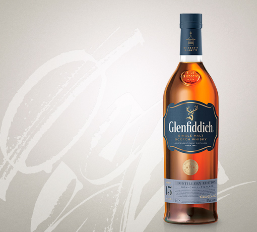 glenfiddich 15yr distillery edition with box tile 2020