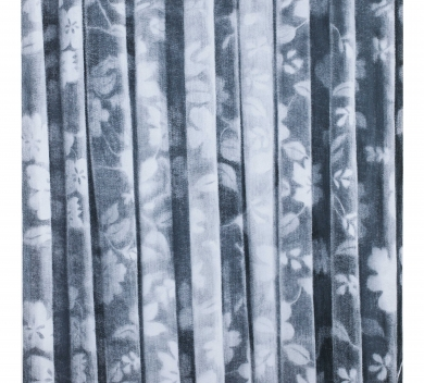 Undulating Pattern 2013. Charcoal on felt. 114 cm x 84 cm