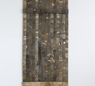 The Visitors Cask oak veneer glue 1800 cm x 75 cm 1