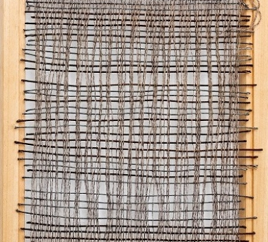 Rhona Jack Warehouse wall Wood Nails Steel Cable Wool