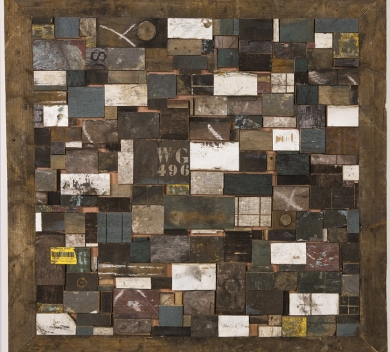 michael sanzone william grant 496 wood mixed media