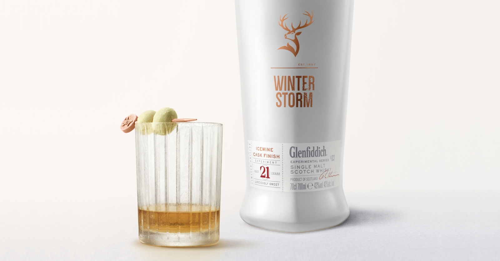 how to drink glenfiddich winter storm whisky